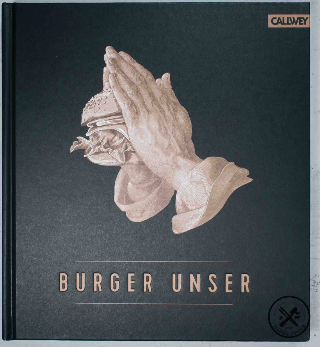 Burger Unser Kochbuch Front