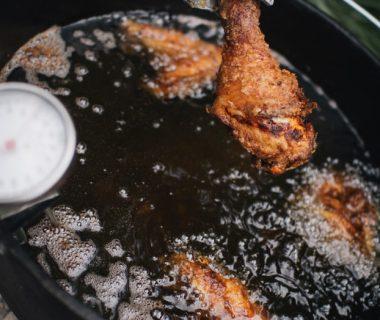 Frittiertes Buttermilch Hähnchen