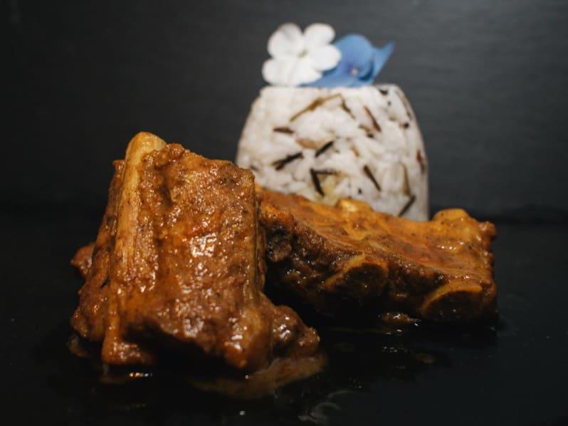 Curry Rippchen mit Reis_1