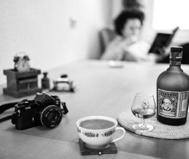 Flat White und Botucal Rum