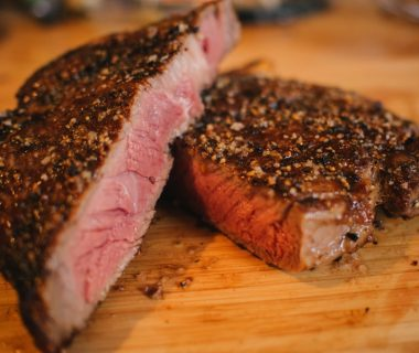 Steak aus der Hochrippe