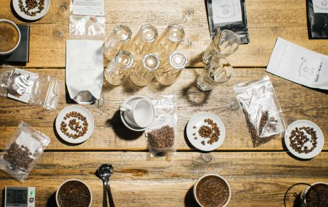 Cupping mit Kaffeebauer Timo